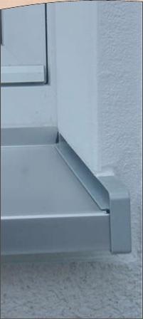 Fensterb nke alufensterb nker fensterbank aus aluminium - Einbau alu fensterbank ...